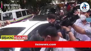 Kangana Ranaut Live Updates : एयरपोर्ट से कड़ी सुरक्षा में घर पहुंचीं कंगना, संजय राउत का बयान