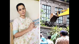'Today my home is demolished, tomorrow your ego will be demolished': Kangana to Uddhav Thackeray
