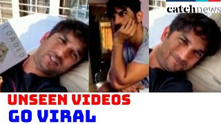 Sushant Singh Rajput With Rhea Unseen Videos Go Viral | Catch News