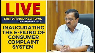 LIVE | Delhi CM Arvind Kejriwal Inaugurating the E-filing of Consumer Complaint System Digitally