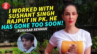 "Rukhsar Rehman Opens Up About Working With Sushant Singh Rajput In PK; Says, ""He Has Gone Too Soon"""