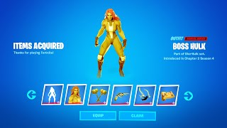 Fortnite Red She-Hulk Crimson Jennifer Walters Reward