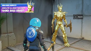 Fortnite Hidden Groot Secret Reward