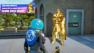 Fortnite Boss Doctor Doom Secret Reward