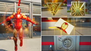 Fortnite All New Bosses, Vault Locations & Mythic Weapons, KeyCard Boss Iron Man in Season 4
