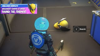 Fortnite Wolverine Sentinel Head Trophy Reward