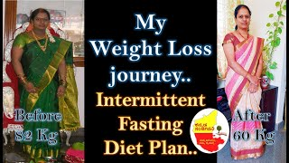 Intermittent Fasting Diet Plan in Kannada | Weight loss Journey | Kannada Sanjeevani
