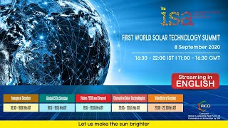 First World Solar Technology Summit – English