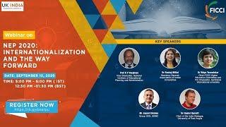NEP 2020 : Internationalization and the Way Forward