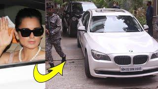 Raj Bhavan Ke Liye Kangana Y-Security Me Nikli, Governor Se BMC Demolition Aur Shiv Sena Par Charcha