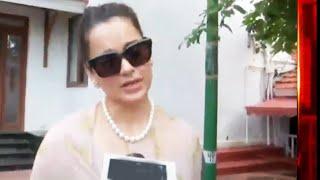 Rajyapal Se Kangana Ranaut Ne Kya Ki Batchit, Press Conference Me Kya Kaha
