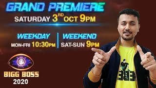 Bigg Boss 14 Grand Premiere On 3rd October | NEW PROMO | BB 14 | Bigg Boss 2020