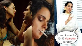 Kangana Ranaut Reveals She Was a Chain Smoker at Age of 19, I Got Addicted While Woh Lamhe Shoot