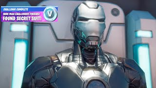 Fortnite All Boss Iron Man Challenge Reward