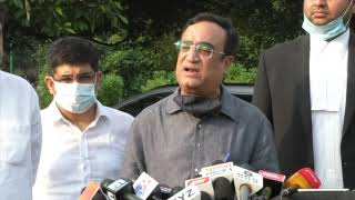 Demolition of Jhuggis near Delhi Railway Tracks: Ajay Maken Addresses Media at Vijay Chowk