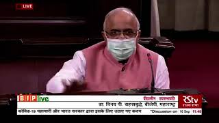 Dr. Vinay Sahasrabuddhe's statement while discussing COVID-19 and steps taken by Modi govt in RS