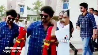 ரசிகனை மதிக்கும் தளபதி விஜய் | Vijay ஒரு ரசிகனுக்கு கொடுத்த மரியாதை | Thalapathy Vijay respect fans
