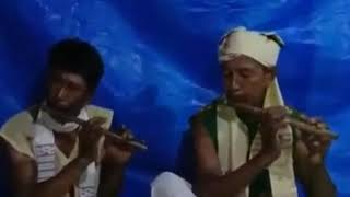 Mising song by flute playing by Biren Mili