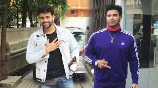 Body Builder Sahil Khan And Pearl V Puri Spotted In Mumbai
