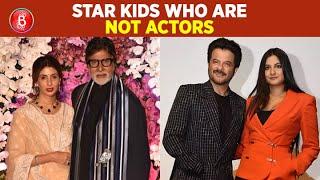Shweta Bachchan Nanda To Rhea Kapoor - Star Kids Who Didn't Wish To Pursue An Acting Career