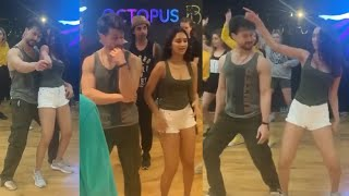 Tiger Shroff Super Dance With Akanksha Sharma At Disco Dance Set