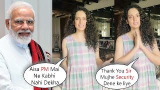 Kangana Ranaut wishes PM Narendra Modi on His Birthday & Asks Few Questions
