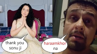 Sonu Nigam Smartly Supports Kangana Ranaut In A Sarcastic way
