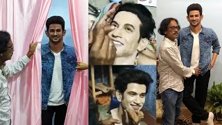 Sushant Singh Rajput Wax Statue Inaugurated in West Bengal By Bengal Sculptor