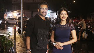TU HAI TOH | Terence Lewis With Digangana Spotted Outside Bastian Restaurant At Bandra
