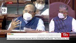 Shri Arun Singh on the Insolvency & Bankruptcy Code (2nd Amendment) Bill 2020 in Rajya Sabha
