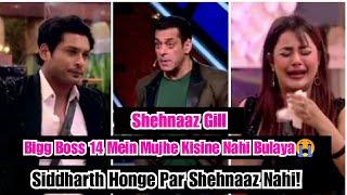 Is Bigg Boss 14 Mein Siddharth Shukla Honge Par Shehnaaz Gill Nahi, Shehnaaz Ne Diya Jawaab
