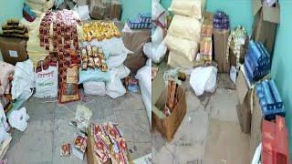 8 Laks Ka Illegal Gutka Important Cigarette Hua Seized | Bandlaguda Hyderabad |@Sach News