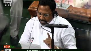 Shri Prabhubhai Nagarbhai Vasava raising 'Matters of Urgent Public Importance' in LS