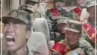 लद्दाख बॉर्डर पर तैनाती से पहले चीनी सैनिकों का डर, बस में रोने लगे चीनी सैनिक...
