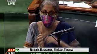 Smt. Nirmala Sitharaman's reply on The Insolvency and Bankruptcy Code (Second Amendment) Bill, 2020