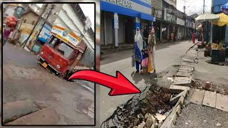Remember how MMC extorted truck driver for damaging the road? This is the condition of it now