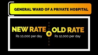 Govt revises pvt hospital charges measly by 2k! Do you feel these rates are justified?