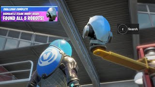 Fortnite Boss Doctor Doom Iron Man Stark Robots Reward