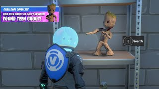 Fortnite Boss Doctor Doom Tiny Groot Reward