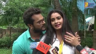 बाप जी (Baap Ji) Bhojpuri फिल्म On Location shooting Khesari Lal Yadav & Ritu Singh Full Interview
