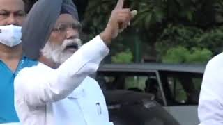 Dr. Amar Singh addresses media on the Farm Bills