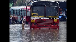 Mumbai: Heavy rains lead to waterlogging, IMD forecasts 'very intense rainfall'