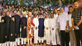 Asaduddin Owaisi's Daughter Marriage | CM KCR And Other Vips Seen |@Sach News