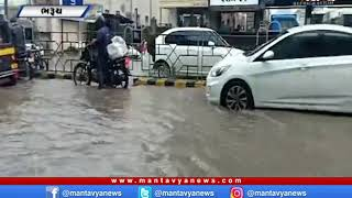 Bharuch: શહેરના જાહેર માર્ગો પર ભરાયા પાણી   Rain