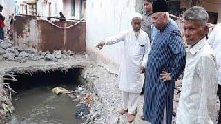 AIMIM MLA Ahmed Pasha Qadri Inspects Various Development Works