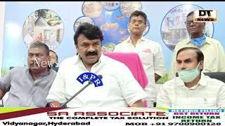 srinivas yadav Ki Land Grabbers ko Dhamki Kaha Builders ko Pareshan Karenge to TADA Cases Book Kari