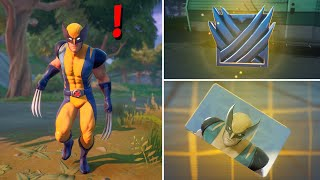 Fortnite All New Bosses, Vault Locations & Mythic Weapons, KeyCard Boss Wolverine in Season 4