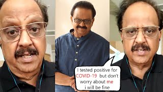 SPB Last Video To His Fans About His Health Status | S. P. Balasubrahmanyam