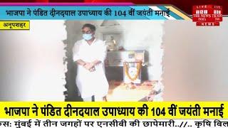 Bulandshahr // भाजपा ने पंडित दीनदयाल उपाध्याय की 104 वीं जयंती मनाई