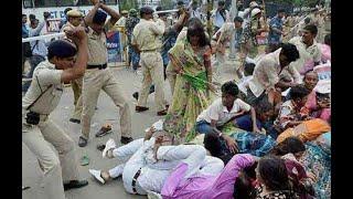 Akhir Police Kya Karrahi Hai Yahan Par | Police Ke Sath Milkar Kisaan Ko Marrahe HaI